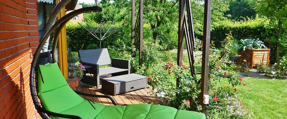 aménagement jardin bois