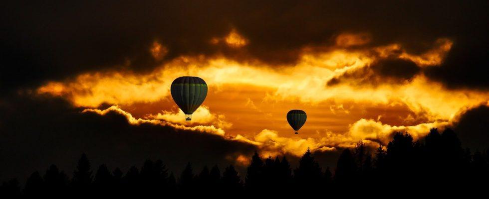 Voyage montgolfière