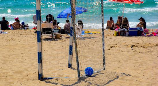 sport plage